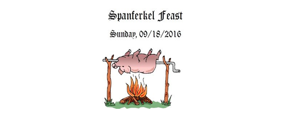 Join our Medieval-Themed Spanferkel Feast!